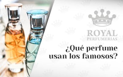 ¿Qué perfume usan los famosos?